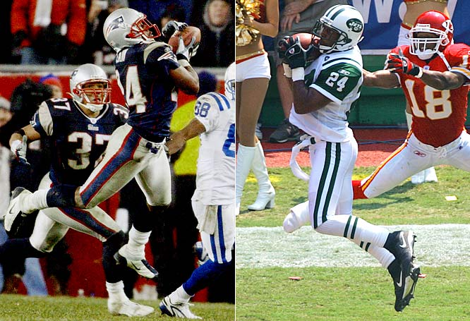 Before a Week 11 rematch in New England, the Jets signed former Patriot Ty Law to play cornerback. The Jets raced out to a 24-6 lead, but Matt Cassell connected with Randy Moss with one second left in regulation to force overtime. In the extra period, the Jets drove down the field and won on a 34-year Jay Feely field goal.