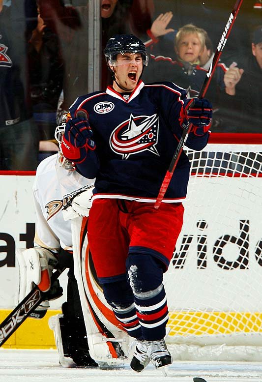 The NHL's leading rookie scorer -- did anyone out there predict that before the season started? -- was fianlly rewarded with a promotion to the Blue Jackets' top line last week. It's about time. Brassard's energy and playmaking have keyed the team's early success and may be just the spark that Rick Nash needs to get his game back on track. It wouldn't be a surprise if Brassard repeats as Rookie of the Month in November.
