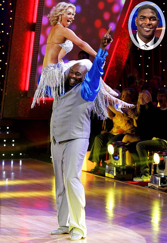 "Sapp may be dancing up a storm while doing the cha-cha all the way to the semifinals of ""Dancing with the Stars,"" but that doesn't mean he's any more understanding to other former NFL players who want to get into the reality TV world. Asked what he thought of his former Tampa Bay teammate Keyshawn Johnson's (inset) new reality show about interior decorating, Sapp said, ""Me, watch Keyshawn on an interior decorating show? Keyshawn, I knew you were a bitch. And thanks for making it clear."""