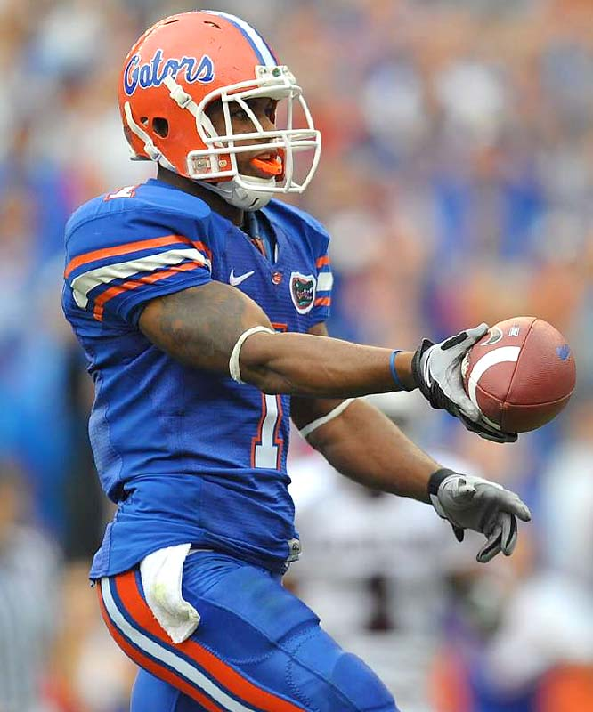 No, Percy Harvin and the Gators aren't the top-ranked team in the country in the polls or BCS standings -- it only seems like it, especially after the 50-point shellacking over Steve Spurrier's club.