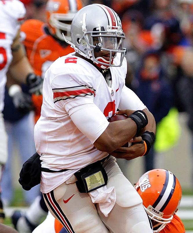 He may be listed as a freshman, but Terrelle Pryor has played way beyond his years of late. He accounted for two scores and ran for 110 yards on Saturday in Champaign as the Buckeyes got some revenge from last year's stunning defeat (when Pryor was still in high school).