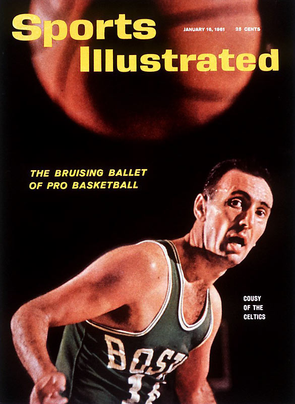 "Before there was And-1 or players being praised for their style, Celtics point guard Bob Cousy and his ""bruising ballet of pro basketball"" was all the rage."