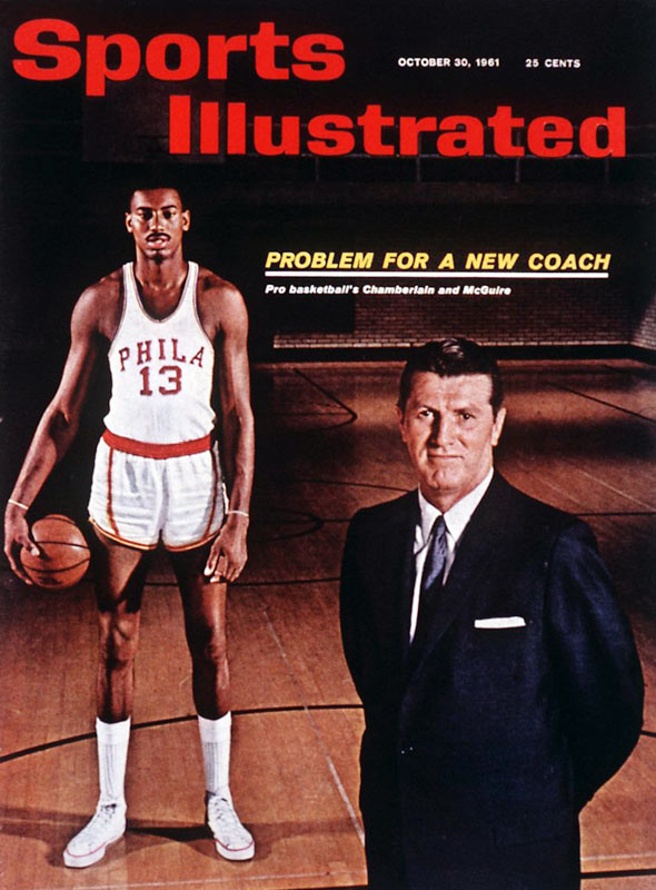 How could coaching the most dominant force in the NBA, Wilt Chamberlain, be a problem? For Frank Maguire, it was figuring out how to develop and properly use the 7-foot-2 center.