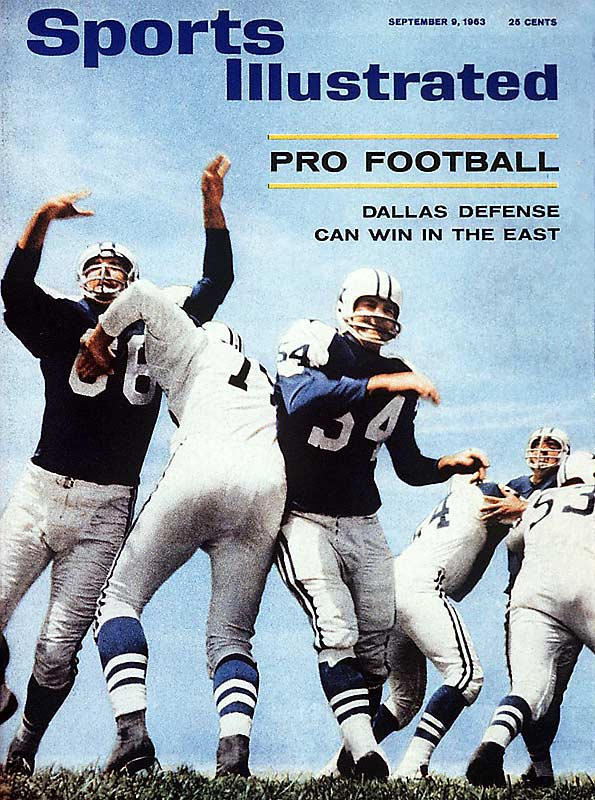 Even in 1963, the Cowboys were America's team, and SI wondered if Dallas' D could win in the east.