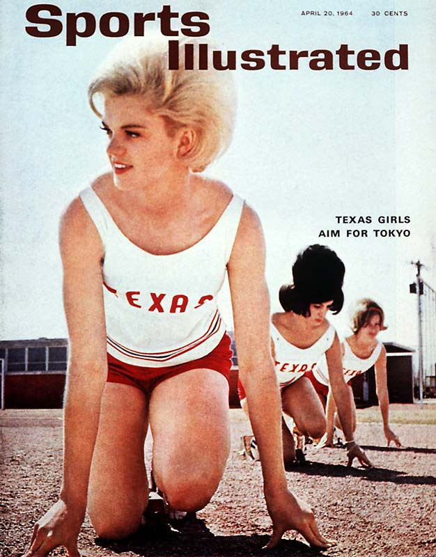 Culture and society has changed drastically since the '60s, but one thing remains certain: Americans love Texas girls.
