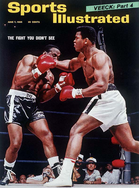 "More than a year after their first meeting, Muhammad Ali (who, between fights, changed his name from Cassius Clay and converted to Islam) and Sonny Liston held their second title match. The ending of the second fight remains one of the most controversial in boxing history. The quick, chopping right that put down Liston became known as ""the phantom punch"" and is still a point of contention as to whether it actually knocked out the challenger."