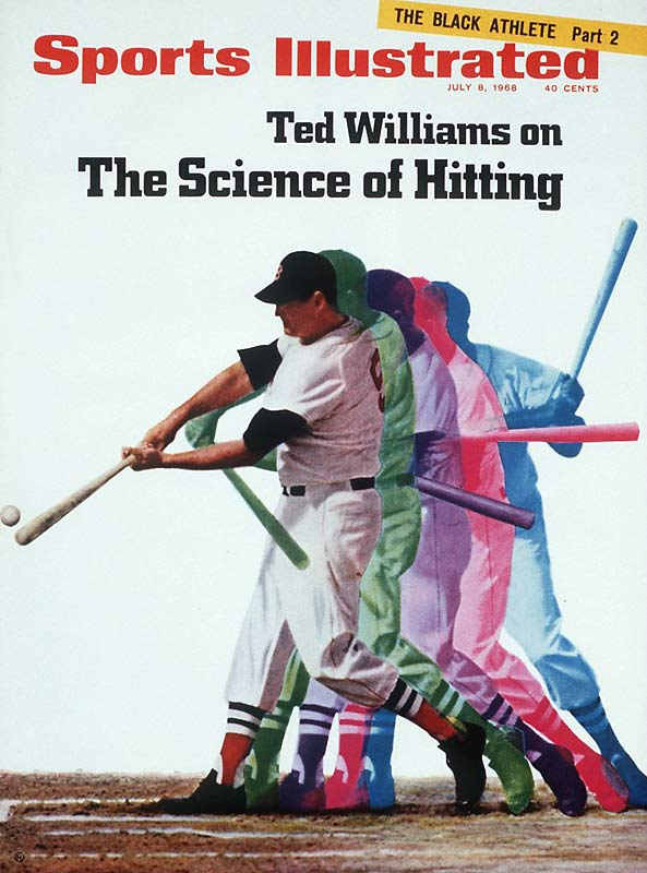 "Two years after his induction into the Hall of Fame, Ted Williams teamed up with SI's John Underwood to explain the ""Science of Hitting."" The 14-page story (which included frame-by-frame shots of Williams' swing) led to a book by the same name two years later -- a volume Tony Gwynn credits for his own hitting success."