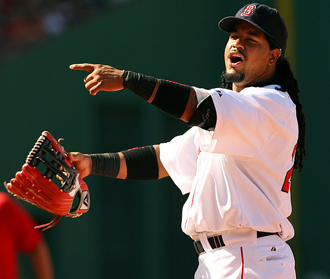 See Manny hit. Nobody hits like Manny. See him smile. What a great guy! See Manny play left field. What a goofball! See Manny push down an elderly employee, sit out games in a selfish funk, force his way out of Boston for money and get everyone in L.A. to buy into his act. Oh, Manny!