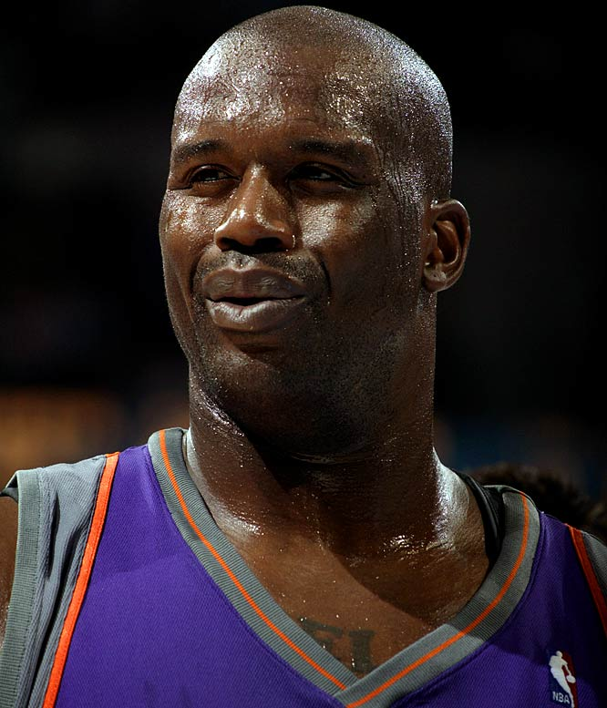 "It's OK to admit that the Big Goof is amusing sometimes. He can be, in his own way, kind of charmingly churlish. In an impromptu late-night rap in June, Shaq took to the mic and asked, in a fractured rhyme, ""Kobe, tell me how my a-- taste?"" Don't know what it means. Don't want to."
