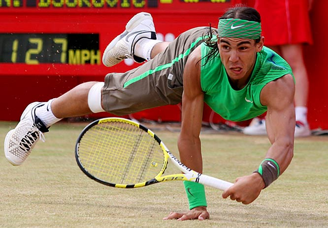 Rafael Nadal won his first Artois Championship in 2008, defeating Novak Djokovic 7-6, 7-5, at the Queens Club in London.