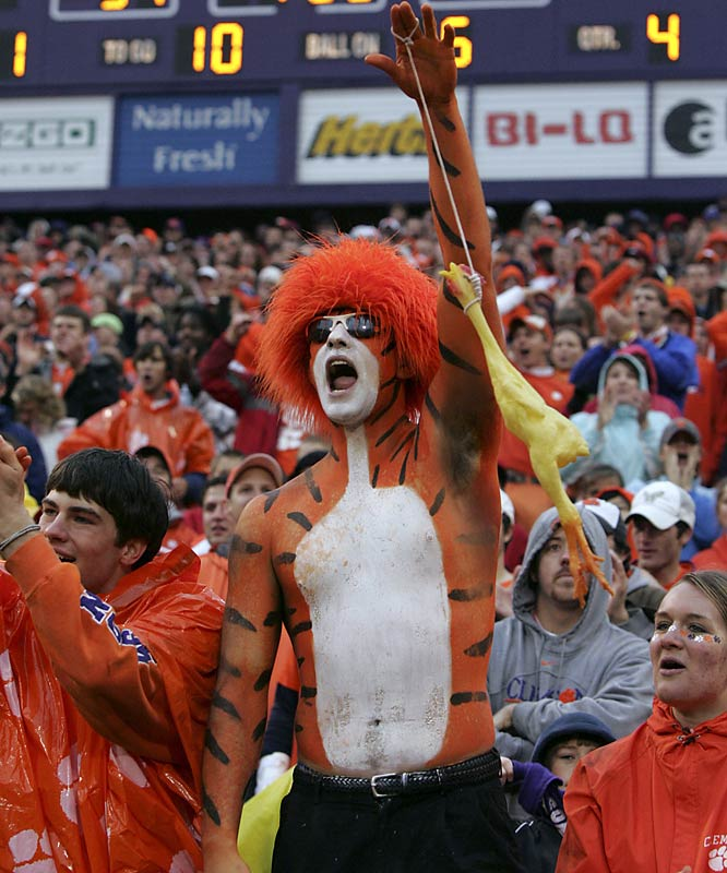 It wasn't an entirely lost season for Clemson fans, as they at least got to see their Tigers beat in-state rival South Carolina.