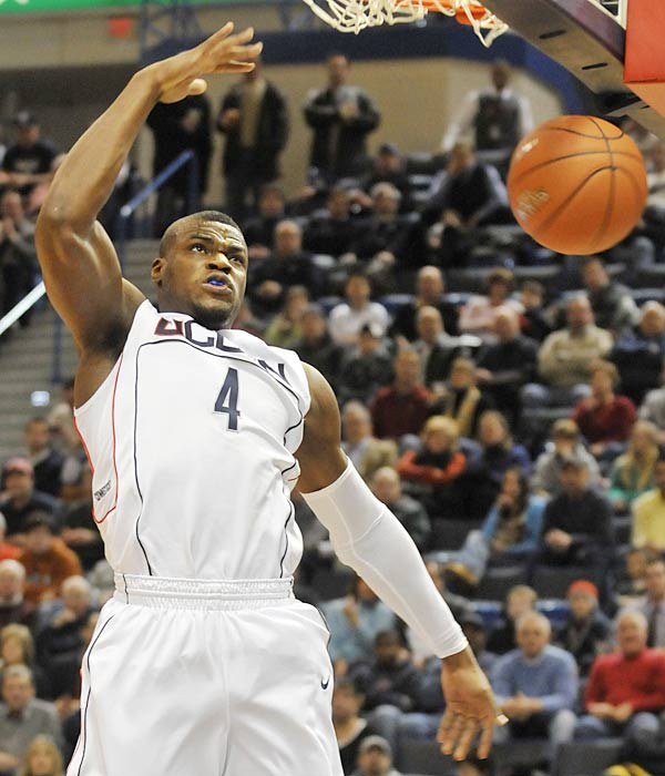 Count on Georgetown and UConn to kick off the daunting Big East season in style -- Jeff Adrien (pictured) had 22 points and 14 rebounds in the Huskies last game while the Hoyas ran over Florida International on Tuesday, allowing only 16 points in the first half.