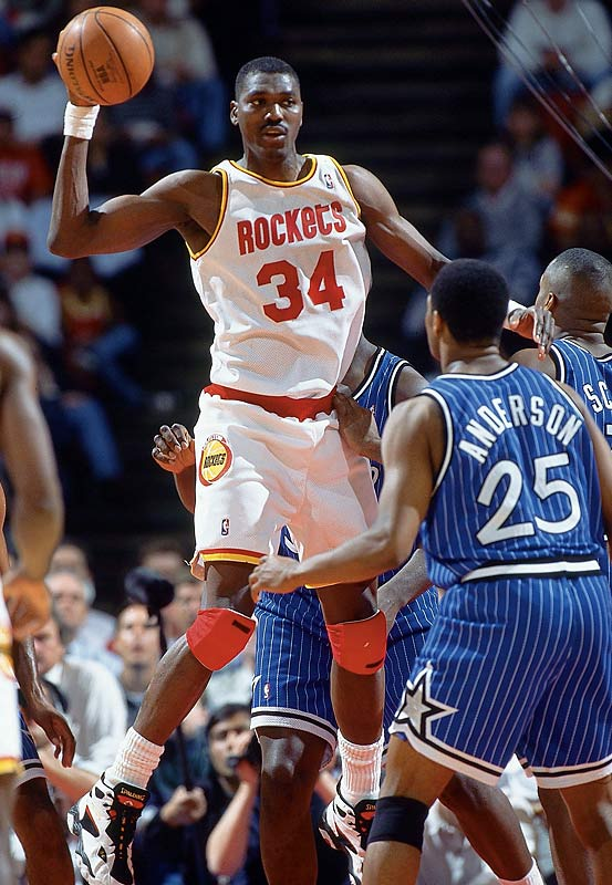 The Houston Rockets, paced by Hakeem Olajuwon's 37 points and 13 rebounds, register a 94-85 victory at New York for the team's 15th straight win to start the season. The victory ties the NBA record set by the Washington Capitols at the start of the 1948-49 season. The Rockets' streak ended with a 133-111 loss at Atlanta the next night.