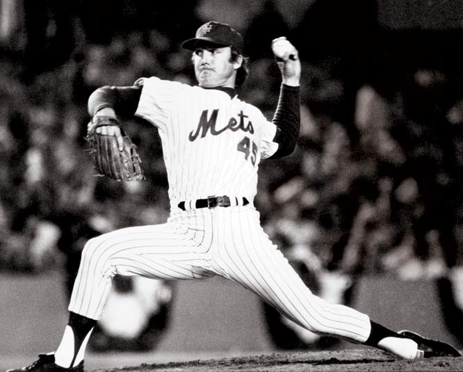 In a six-player deal, the Mets trade fan favorite Tug McGraw to the Phillies along with outfielders Don Hahn and Dave Schneck in exchange for outfielder Del Unser, pitcher Mac Scarce and catcher John Sterns.