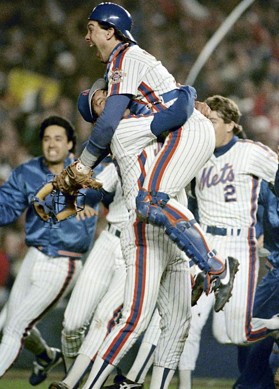 The Expos trade catcher Gary Carter to the Mets for Mike Fitzgerald, Herm Winningham, Hubie Brooks and Floyd Youmanns. The perennial all-star will become a important part of the success New York will have during the rest of the decade.