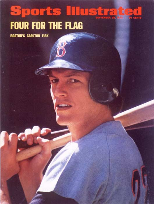 The Red Sox mail Fred Lynn and Carlton Fisk (pictured) their new contracts two days after the Basic Agreement deadline of Dec. 20. Boston's inaction makes their all-stars eligible for free agency.