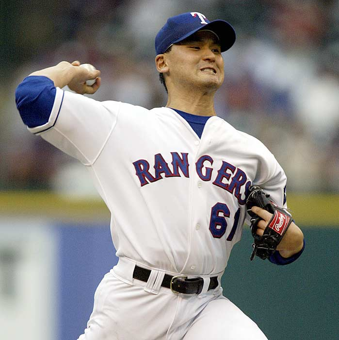 Highly coveted free agent Chan Ho Park (15-11, 3.50) signs a five-year, $65 million deal with the Rangers. The Korean right-hander led the Dodgers in wins, starts, innings pitched, strikeouts and opponents' batting average in 2000.