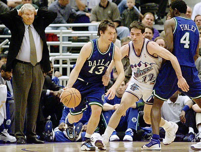 Don Nelson of the Dallas Mavericks notched his 938th career coaching win in Dallas' 94-85 victory over New York, tying him with his Boston Celtics' mentor Red Auerbach for fourth place on the all-time coaching victories list.