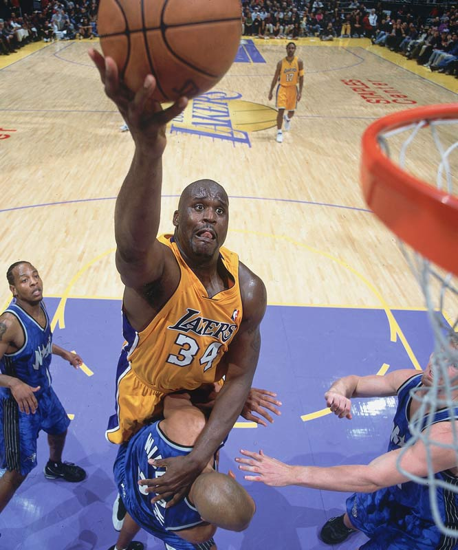 Shaquille O'Neal breaks a 40-year-old NBA record by missing all 11 of his free throw attempts against Seattle. Wilt Chamberlain missed all 10 of his free throw attempts against Detroit on Nov. 4, 1960.