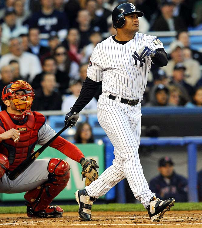 Abreu just wrapped up his sixth consecutive season with 100 or more RBIs, but with the Yankees focused on upgrading their rotation, the right fielder is exploring other options. He might have to wait for other dominoes to fall -- Manny Ramirez, for one -- but at 34, the lifetime .300 hitter will fit nicely in any number of lineups.