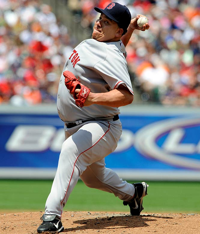 "The 2005 American League Cy Young Award-winner, Colon has always pitched with a bit of a paunch. With a career 150-97 record, his weight wasn't much of an issue until the injuries started to crop up. In light of his weight, so to speak, Boston's media weren't kind when they got their first look at their new hurler this spring. ""Colon rolled into Red Sox camp yesterday in a maroon Mercedes at five minutes past noon,"" wrote Gordon Edes in the Boston Globe. ""Lunch time, one observer noted, which, judging by appearances, is one of Colon's favorite times of day."""