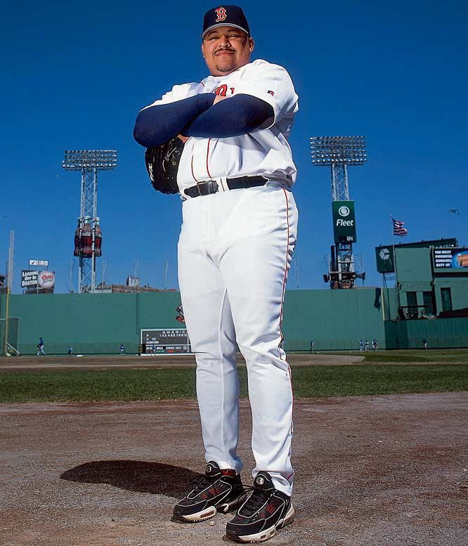 "Known as El Guapo (the handsome one), Garces was a set-up man for the Twins, Marlins, Cubs, and Red Sox known as much for his expanding waistline as his pitching. ""With Rich, I don't know what you can say about how much of an effect his weight has on him,"" said Joe Klein, executive director of the Atlantic League. ""We had marginal interest in him, but last time I saw him [a few years ago], I thought he was going to explode. He's a worker's comp case waiting to happen."""