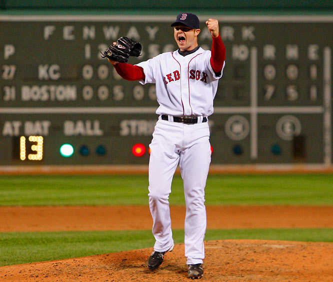 Nothing's more stressful in sports than the last few outs of a no-hitter. On 130 pitches, Boston's Jon Lester threw the 18th no-hitter in Red Sox history, a 7-0 win over the Kansas City Royals. For the game, Lester allowed just two walks, while striking out nine.