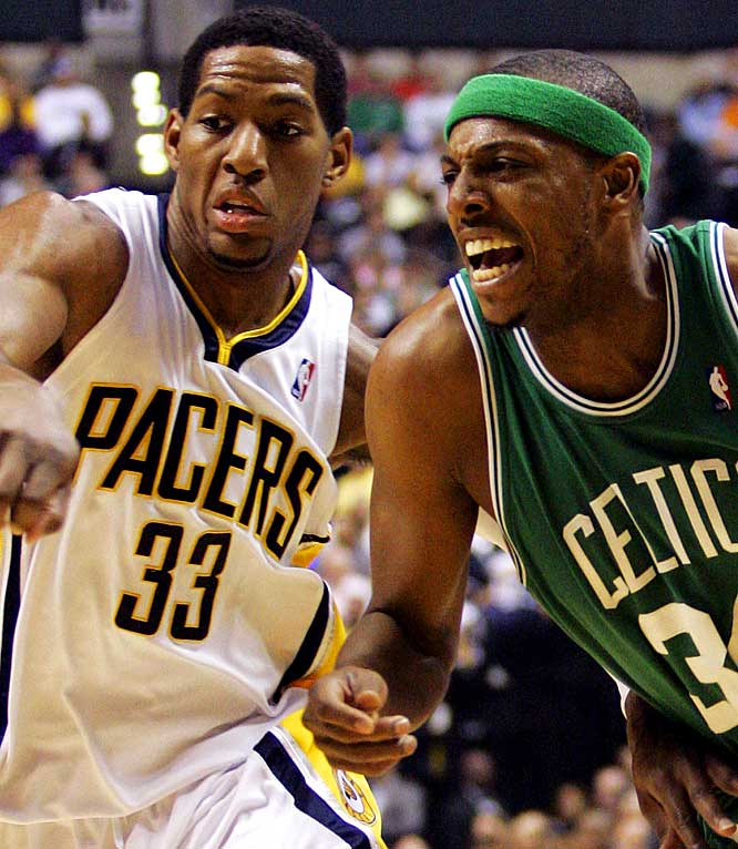 Led by Danny Granger, Indiana drilled the Celtics 95-79 before a capacity crowd in its home opener Nov. 1. The Pacers certainly got Boston's attention in leading by as many as 25 points and dominating a team that had only three double-digit losses all last season. This matchup comes four days after the teams meet in Boston and caps a week in which Indiana also plays host to the Lakers and visits the Cavaliers.