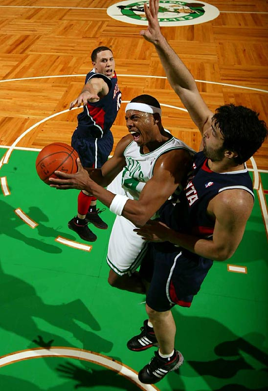 Boston needed Paul Pierce's go-ahead fadeaway with 0.5 seconds left to beat Atlanta in the teams' first meeting this season, on Nov. 12, when the Hawks' perfect start (6-0) ended. Now the Celtics visit Atlanta for the first time since losing all three matchups there in the first round of the playoffs last season. Hawks forward Josh Smith is back after missing the November game in Beantown with a sprained ankle.