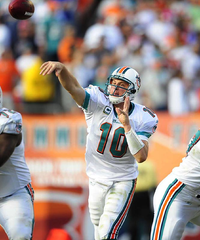 Pennington's numbers might not be as flashy as Phillip Rivers', but you can't argue that the Dolphins have been more successful than the Chargers.