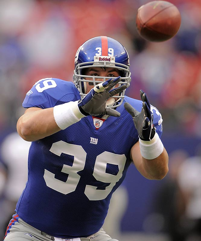 The Giants have the No. 1 rushing attack in the NFL and any coach will tell you Hedgecock is a big reason why.