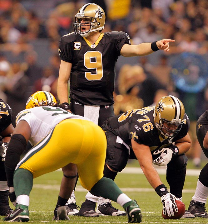 One of the most prolific passers in league history, Drew Brees started the 2008 season on a torrid streak, racking up yards as no one had done before. Through 10 weeks of the season, his 3,254 passing yards were more than any quarterback had ever posted. The previous high was Dan Fouts' 3,164 in 1982.