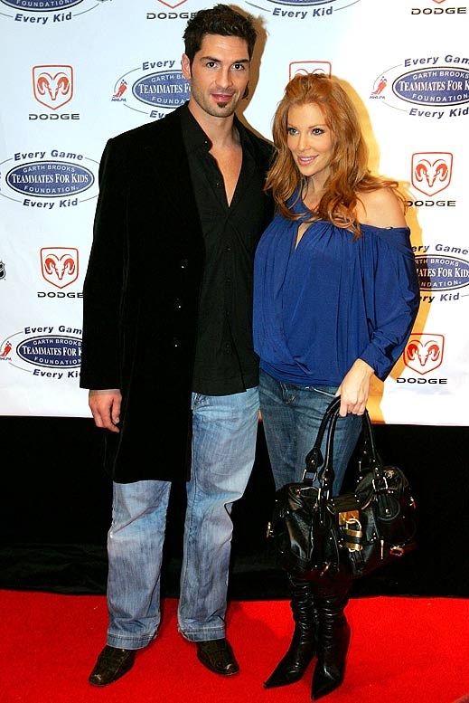 Souray and Bridges were married between 2002 and 2007 and produced two children together.