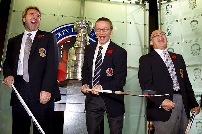 On Nov. 10, the Hockey Hall of Fame in Toronto welcomed legendary Russian forward Igor Larionov, clutch winger Glenn Anderson of the dynastic 80's Oilers and '94 Cup champion Rangers, linesman Ray Scapinello and late junior hockey builder Ed Chynoweth.