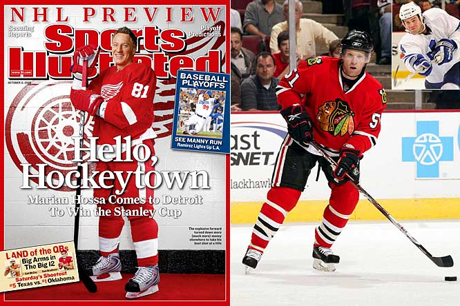 Marian Hossa's decision to take less money and defect to the Red Wings for one year at $7.45 million and a shot at the Cup was the biggest story, but the Blackhawks made news by signing defenseman Brian Campbell to an eight-year deal worth $7.14 million. The Lightning went wild with a big hodgepodge of signings and trades, but the most head-scratching deal was nondescript blueliner Jeff Finger getting $14 million for four years from the Maple Leafs.