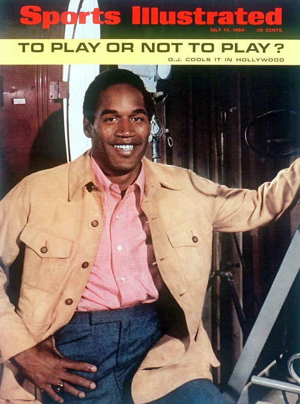 """After leaving USC, Simpson was drafted by the AFL's Buffalo Bills. Owner Ralph Wilson offered Simpson a five-year, $250,000 contract while Simpson requested a  five-year, $650,000 deal. As contract negotiations lingered, O.J. became a General Motors spokesman and appeared in the movie """"The Dream of Hamish Mouse."""" With a lucrative second career waiting, SI asked the question """"To Play or Not to Play?"""""""