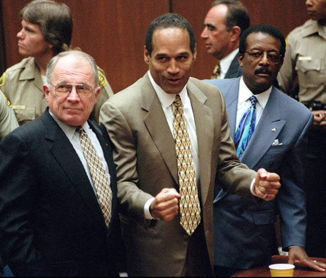 """The Trial of the Century"" ended on Oct. 3, 1995, when  Simpson was found not guilty on the murder charges. The controversial decision sparked both outrage and celebration across the nation."