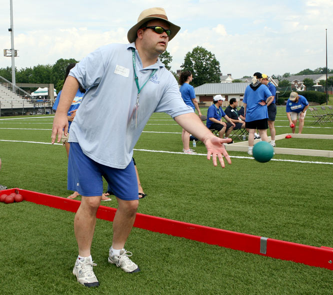 Because of Kurt Straub's experience with bocce (he won a silver medal at the 1999 World Games in North Carolina) and his ability to communicate with and relate to other athletes, he was chosen by the Cumberland County (New Jersey) head coaches to be an assistant coach.