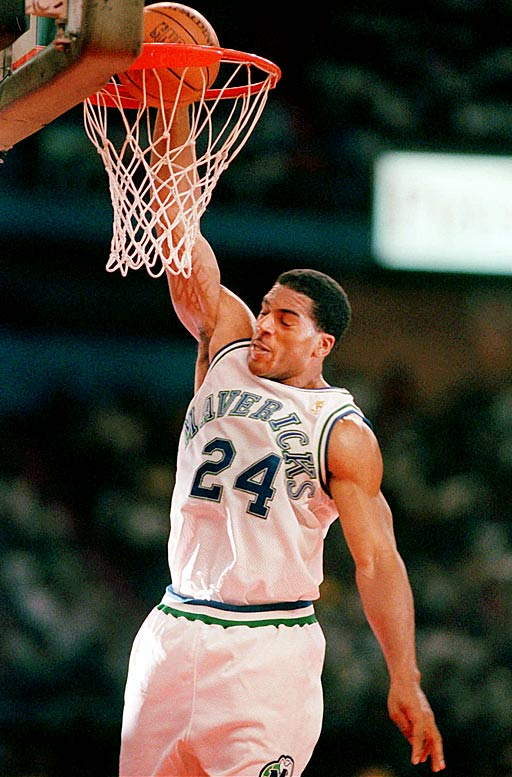 The extremely belated signing of their No. 1 pick, Jim Jackson, is all that saves this Mavs team from being the worst team in NBA history. Dallas not only posted a 19-game losing streak (one off the record), but also was outscored by 15 points per game for the season. The Mavs finished with an 11-71 record.