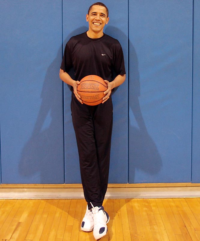 While basketball itself won't be sworn in on Jan. 20 as the 44th president of the U.S., the game has played an outsized role in forming the man who will.