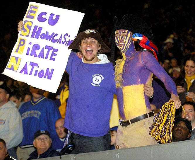 ECU lost to Kentucky, but at least this fan had his pet parrot to console him.