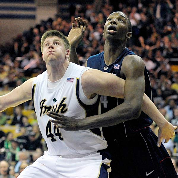 Notre Dame fell out of the AP top 25 rankings for the first time this season and will be looking to get back in the groove when the Panthers welcome Luke Harangody (pictured) and company to Pittsburgh.