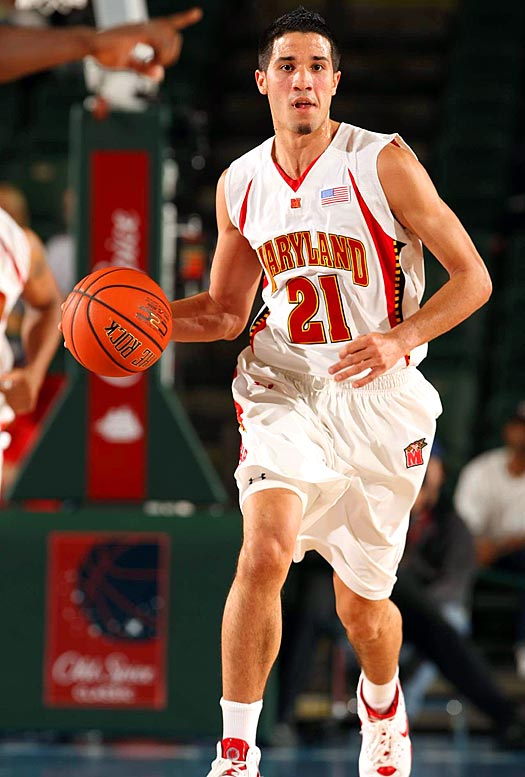Sure, Duke is the second-ranked team in the country, while the Terrapins are losing to teams like Morgan State.  But that doesn't make this any less of a completely fight-til-the-death sort of rivalry.  Expect the Crazies to come out in full form and for Greivis Vasquez, pictured, and the Terps to put forward their best efforts -- last season it was the Terps who knocked off Carolina around this time.