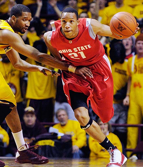 The Spartans are coming off an easy win over Northwestern while the Buckeyes are looking to come back from a tough loss to Minnesota.  Evan Turner (pictured) is averaging 16.4 points a game for Ohio State.