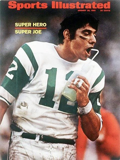 The New York Jets become the first AFL team to win the Super Bowl, defeating Baltimore 16-7 in Super Bowl III.