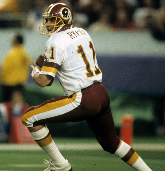Washington defeats Buffalo, 37-24, in Super Bowl XXVI. Mark Rypien passes for 292 yards and two touchdowns as the Redskins win their third Super Bowl in 10 years.