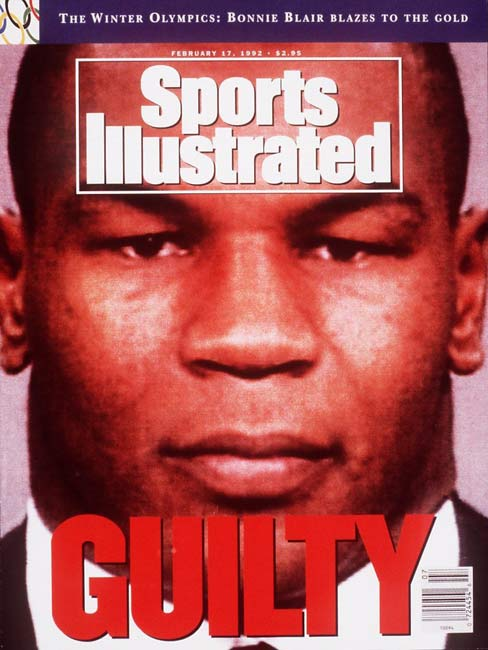 Former world boxing champion Mike Tyson goes on trial for allegedly raping an 18-year-old contestant in the 1991 Miss Black America Contest.