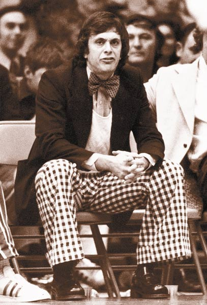 Larry Brown (pictured here in 1973) posts his 500th career NBA coaching victory, following Indiana's 88-83 road win over Houston.