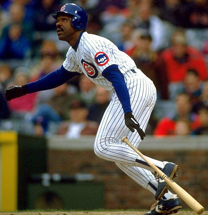 """The Hawk"" exploded onto the scene in 1977, blending speed and power to earn the NL Rookie of the Year award. Bad knees and all, Dawson played 24 seasons, winning eight Gold Gloves, four Silver Sluggers and an MVP award (while playing for a last place Cubs team). Dawson is one of only three members of the 400 HR-300 SB club, joining Barry Bonds and Willie Mays."