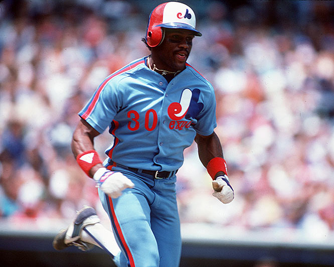 One of the most prolific base-stealers of all time, Raines stole at least 70 bases in each of his first six full seasons, including a career-best 90 in 1983. Raines' 808 steals rank fourth all-time, and his 2,605 career hits put him sixth in history among switch hitters.